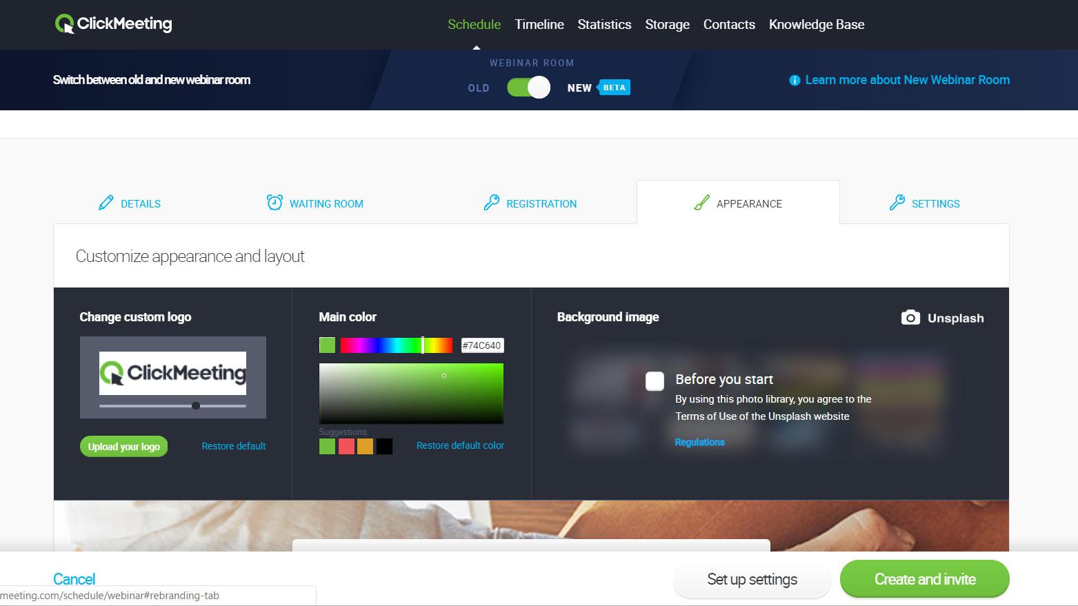 clickmeeting-meeting-setup