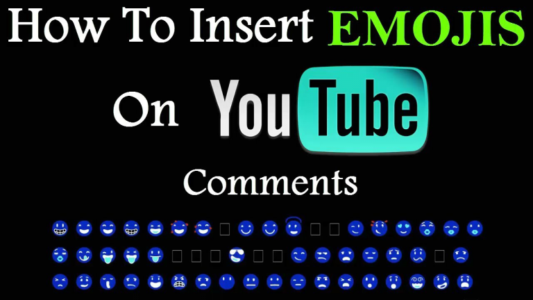 how-to-put-emojis-in-youtube-comment