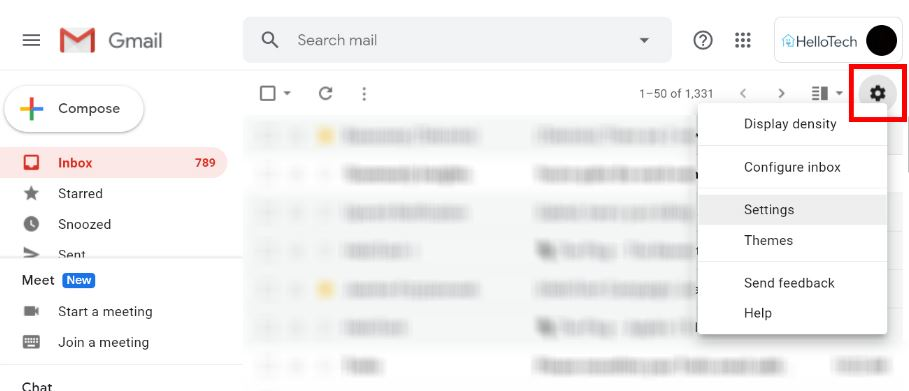 How to Set Up Out of Office in Gmail on desktop