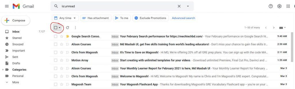 How To Delete Gmail Emails In Bulk