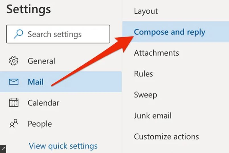 Add Signature In Outlook Web App