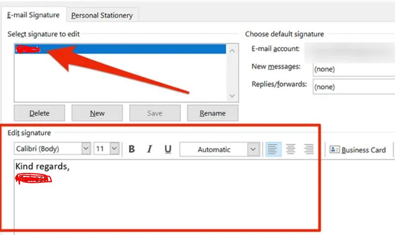 How To Change Your Signature In Outlook Email