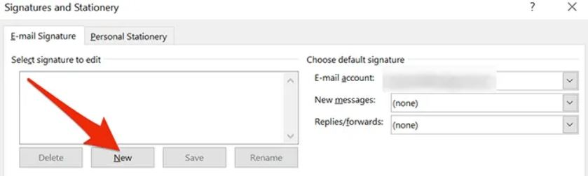 how to add signature in outlook online