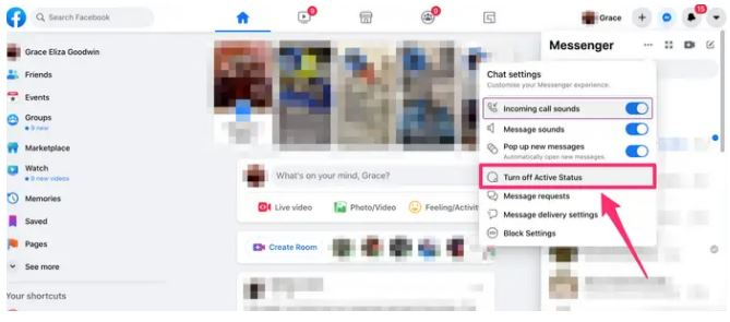 How To Turn Off fb Active Status