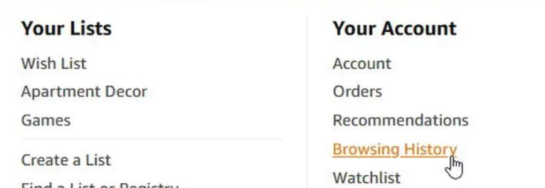How To Hide Purchases On Amazon Via Browsing History