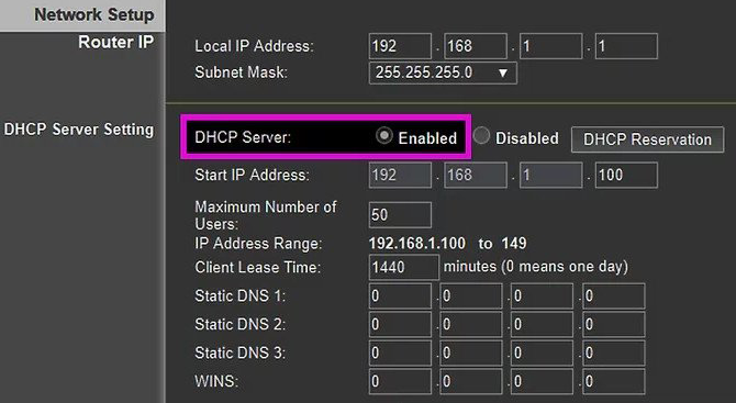 Enable DHCP on your Vizio Smart Tv
