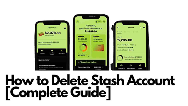 How to Delete Stash Account