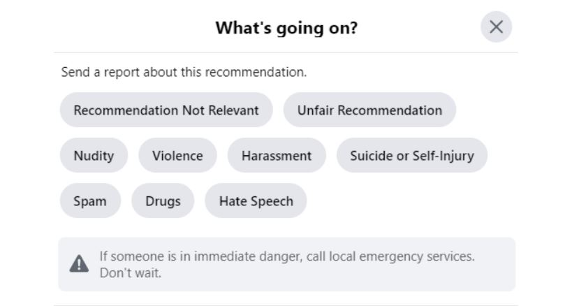 How To Report Facebook Reviews