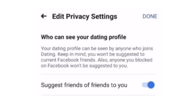 Who Can See Your Facebook Dating Profile